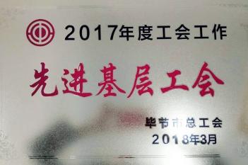 2017年度工会工作先进基层工会