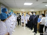市领导到毕节市第一人民医院看望慰问护理工作者